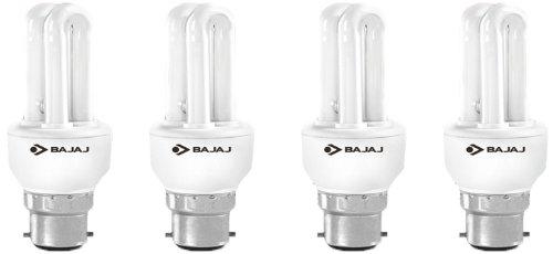 Bajaj Ecolux 2U CDL 5W CFL Bulb (Pack of 4) Image