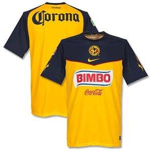 the latest a64d1 26515 SOCCER CLOTHING: Club America Home Football Shirt 2011-12 Nike