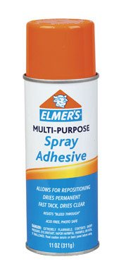 Buy ELMER'S PRODUCTS, INC. E-451 SPRAY ADHESIVE (PACK OF 6) (Elmer's Painting Supplies,Home & Garden, Home Improvement, Categories, Painting Tools & Supplies)