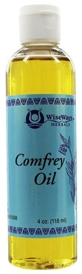 WiseWays Herbals Comfrey Oil 4 oz