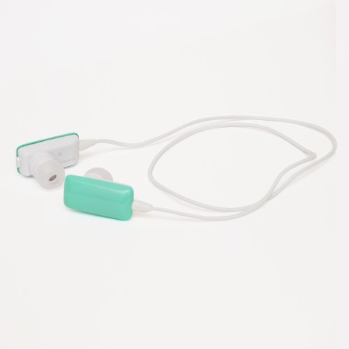 cheero Sound Shell (ミント) Bluetooth ワイヤレス ヘッドセット半年保証同梱物(イヤーフック×2、イヤーパッド(S/L/M×2)充電用USBケーブル、日本語説明書/保証書)