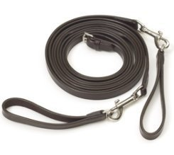 Camelot Leather Draw Reins - Size:Pony Color:Brown (English Draw Reins compare prices)