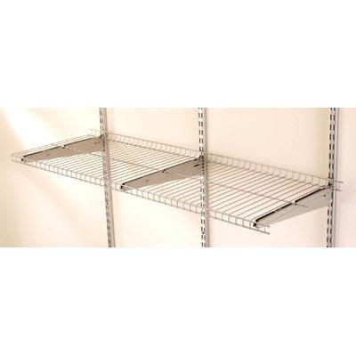 Rubbermaid FG5E2102SNCKL FastTrack 4-Foot Wire Shelf (Wall Mountable Wire Shelf compare prices)