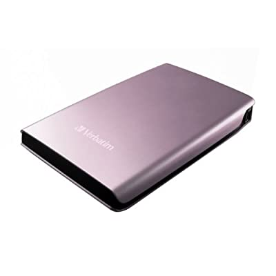 Verbatim Store 'n' Go USB 2.0 Portable Hard Drive 320GB Pink Discos duros externos de menos de 70 euros external hard drives Less than 100$ baratos cheap