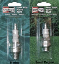 "Yankee Warehouse Inc 821 ""Champion"" Marine Spark Plug"