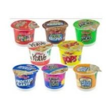 Kellogg's Cereal Favorites Variety Pack, 1.5 to 2.8-Ounce Single Serve Cups (Pack of 60)