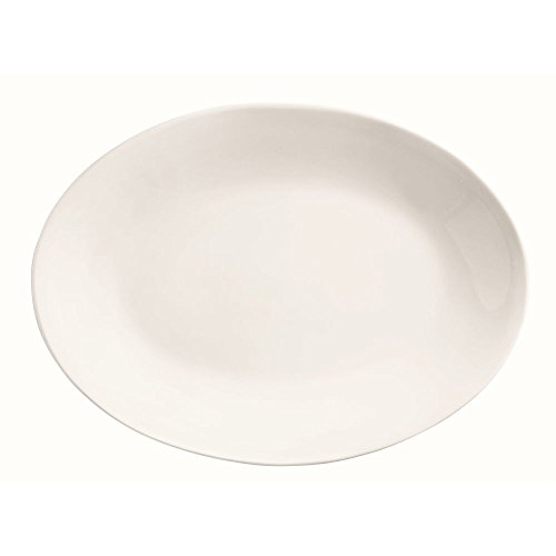 World Tableware 840-530R-30 Porcelana Re Oval Platter - 12 / Cs