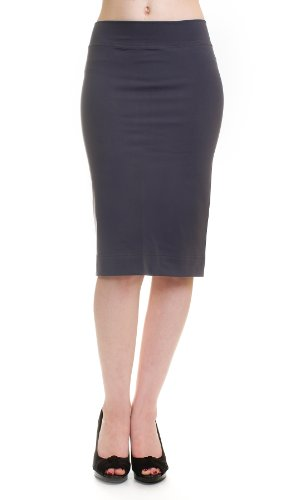 Hard Tail supplex pencil skirt (grey) (large) Image