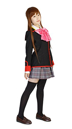 [Milica Books Little Busters! Rin Natsume girl's uniform Cosplay Costume Size M] (Hottest 12 Year Old Girls)