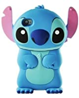 Disney Stitch 3d Movable Ear Flip Hard Case Cover for iPhone 4/4s Xmas gift