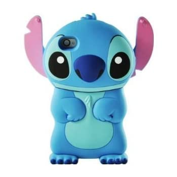 Set A Shopping Price Drop Alert For Disney 3d Stitch Movable Ear Flip Hard Case Cover for Iphone 4/4s Xmas gift