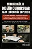 img - for Metodologia de Dise o Curricular para Educacion Superior book / textbook / text book
