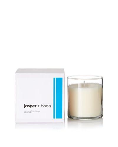 Bluewick Candles 12-Oz. Jasmine & White Ginger Jasper + Boon Boxed Candle
