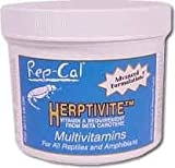 HERPTIVITE Multivitamin for reptiles and amphibians (3.2 oz) Blue Bottle