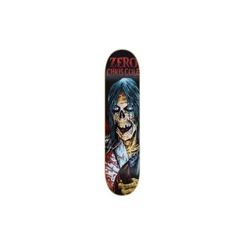 Zero Chris Cole Zombie Axe Skateboard Deck 8.25 x 32.125