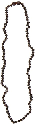 Healing Hazel 100% Balticamber Adult Necklace, Cherry Polished - 1