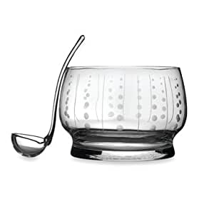 By Mikasa-Cheers Selections Collection Punch Bowl With Ladle