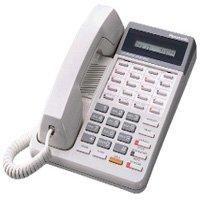 Panasonic KX-T7030 KX-T7030-W 12 Button Display Speakerphone White