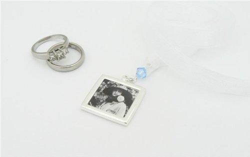 Picture Frame Bouquet Charm - Brides Keepsake