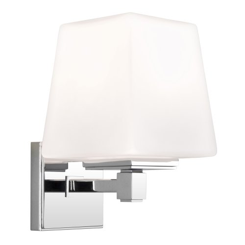 Astro 0656 E14 Noventa Wall Light excluding 1 x 60 Watt 230 V Bulb, Chrome