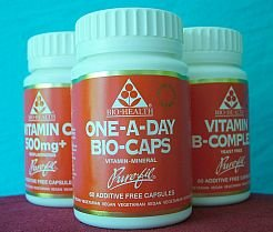 Bio Health One-A-Day Bio-Caps - Multi Vitamin & Multi Mineral - 60 vegicaps