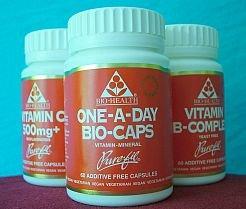 Bio Health One-A-Day Bio-Caps - Multi Vitamin & Multi Mineral - 60 vegicaps