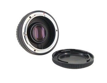 Converter Adapter For Canon Fd Lens To Eos Ef Body (Black)