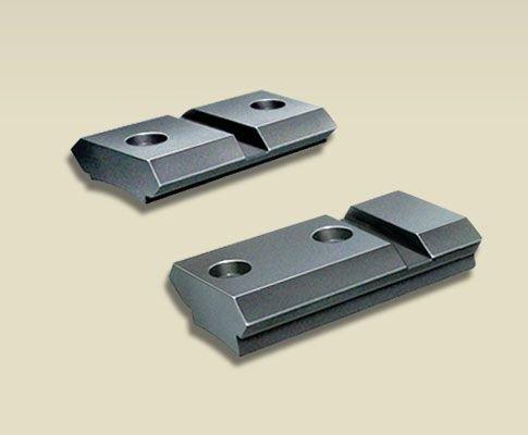 Millett St00709 Rem 700,Wby,Mk V,Vanguard 2-Piece Angle-Loc Steel Base, Matte