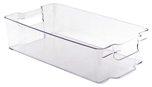 WholeMarket Fridge and Freezer Bin for Kitchen Storage & Organization, 14.6