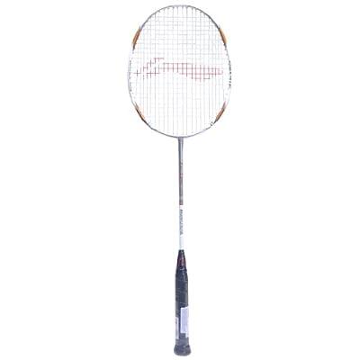 Li-Ning G-Tek 98 Badminton Racquet (Silver/Gold/White)