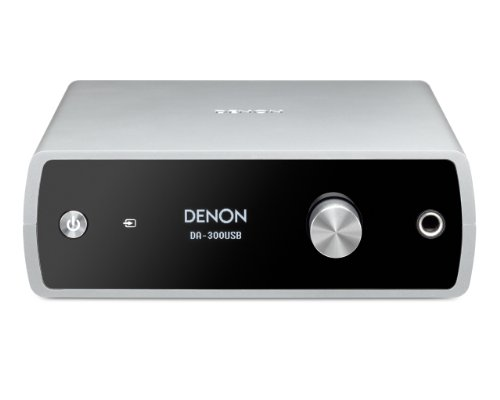 DENON デノン USB-DAC ヘッドホンアンプ ハイレゾ音源対応 シルバー DA-300USBS