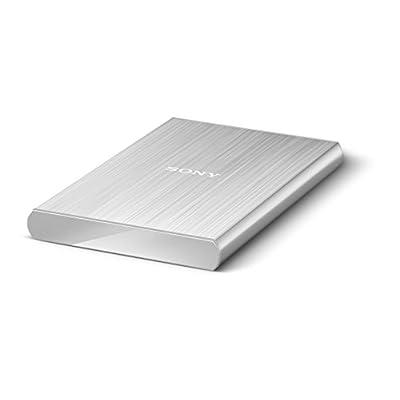 Sony HD-SL1 1TB External Slim Hard Disk (Silver)