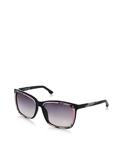 Diesel Women's Sunglasses, Black/White/Pink, One Size