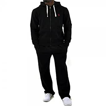 ralph lauren herren trainingsanzug schwarz schwarz. Black Bedroom Furniture Sets. Home Design Ideas