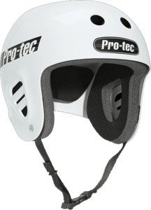 PRO-TEC Classic Full Cut Skate 2-Stage Liner White Medium Skateboard Helmet