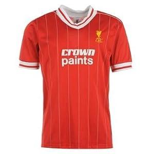 Score Draw Liverpool FC 1982 Home Shirt Red/White Medium