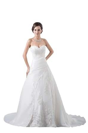 Herafa Wedding Dress Elegant NOw35388 Amazon Fashion
