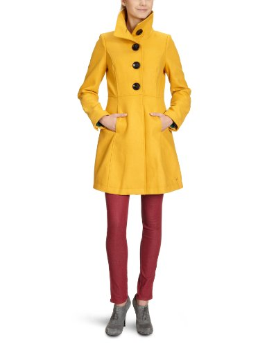 tom tailor denim damen kurzmantel 38000060071 wool optic coat gr 40. Black Bedroom Furniture Sets. Home Design Ideas