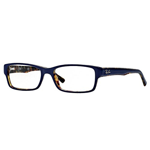 Ray Ban Rx5169 Eyeglasses-5219 Top Blue On Havana-52Mm