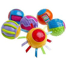 Fisher-Price Roll-a-Rounds: Touch 'N Tickle Rounds - 1