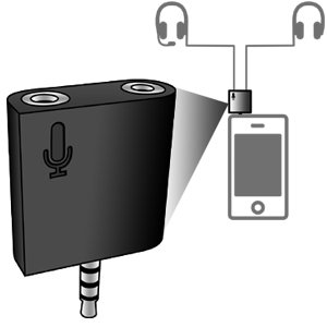Wiretap Headphone/Microphone Splitter