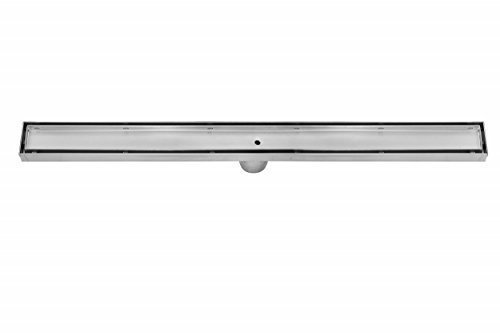 DreamDrain Brushed Stainless Linear Shower Drain Tile Insert - 28 Inch (Removable Tile Floor compare prices)