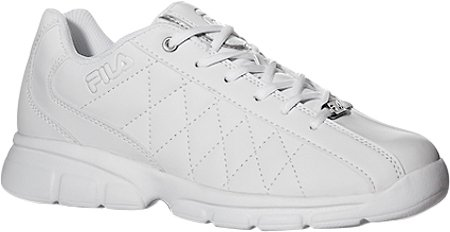 Fila Men's Fulcrum 3 Training Shoe, White/White/Metallic Silver, 12 M US