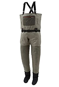 Simms G3 Guide Stockingfoot Waders with Thirsty Trout Keychain (Large (12-13))