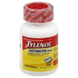 Tylenol 8 HR Arthritis Pain 650 mg - 100 Caplets - 1