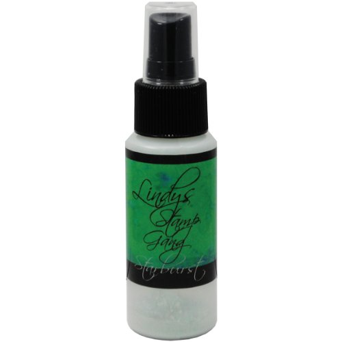 Lindy's Stamp Gang Starburst Spray Paint, 2-Ounce Bottle, Lucky Shamrock Green