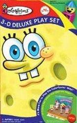 Colorforms 3D Deluxe Play Set Spongebob Squarepants - 1