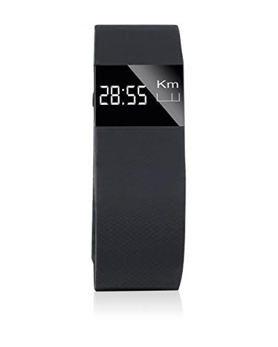Reloj Pulsómetro Con Banda Krun V1 Negro