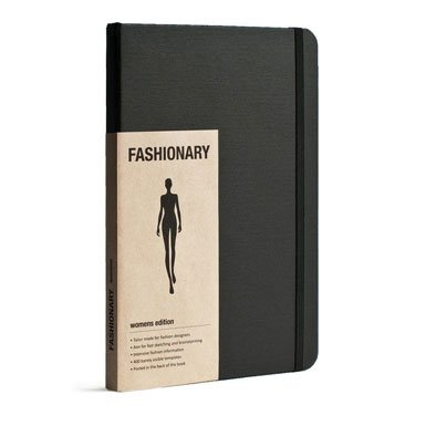 A5 Fashionary Sketchbook - Womens Edition