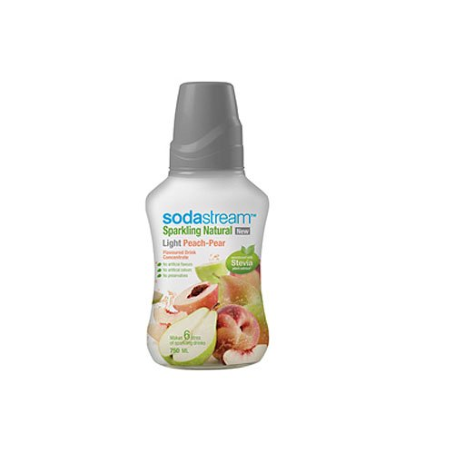SodaStream Stevia Peach and Pear Flavour Syrup